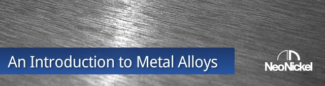 An Introduction to Metal Alloys
