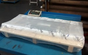 Shrink Wrapped Pallets